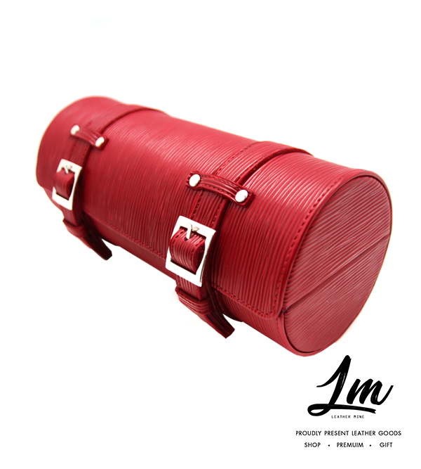 กระเป๋าหนังเก็บนาฬิกา - Red Supreme