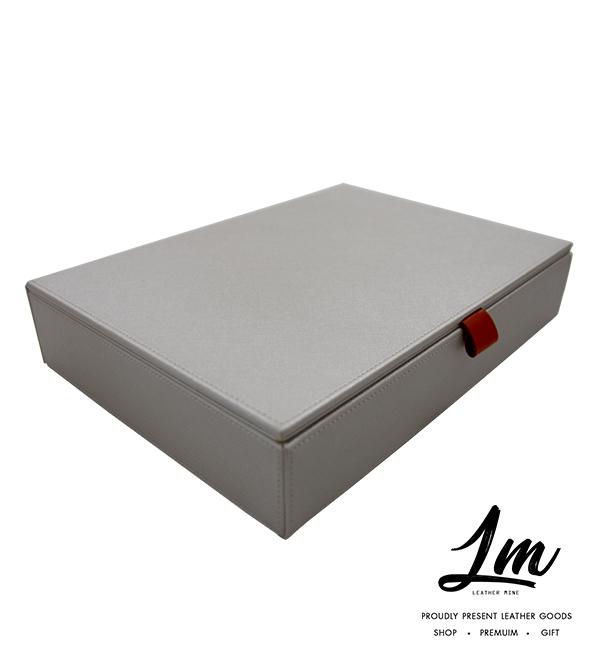 กล่องใส่ของอเนกประสงค์ - สีขาว